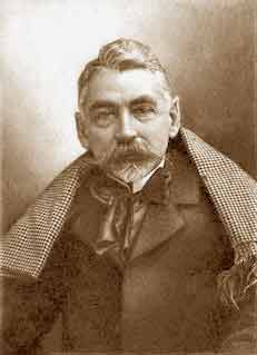 STEPHANE MALLARMÉ Stephane (1842-1898) : Are there only public festivals : I also know withdraw ones. (Mallarmé). Photo de Nadar
